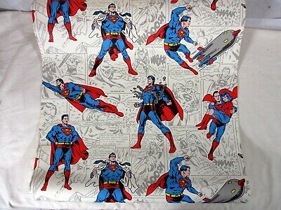 Rare Vintage Dc Comics Inc. Superman 1978 Wallpaper Wall Paper Part Roll