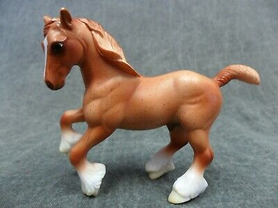 Breyer * Red Roan Clydesdale * 6022 Gentle Giants Draft Stablemate Model Horse g