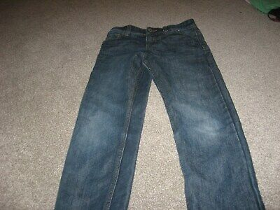 Boys age 8-9 straight blue jeans from Denim Co
