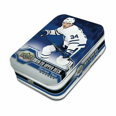 2019-20 Upper Deck Series 2 Hockey 9ct Tin Box Sealed RETAIL