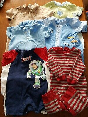 Baby Boy Clothes, Rompers 3/6months, Lot of 6