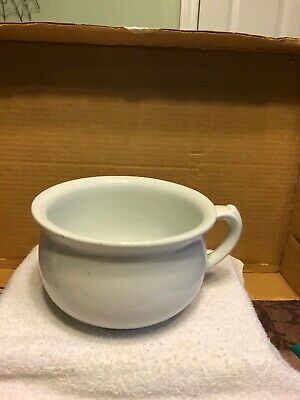 Antique Thomas Furnival And Sons Chamber Pot