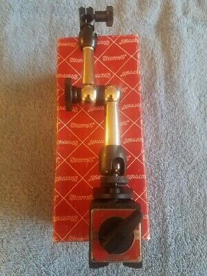 Starrett magnetic base no. 660. Excellent condition.