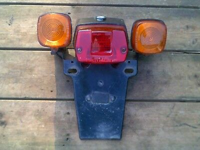 Honda Melody De-Luxe Rear Light, Indicators & Mudguard.nhm.51Rc