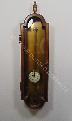 Warmink Anno 1750 Gravity Or Sawtooth Wall Clock In Antique Look Case