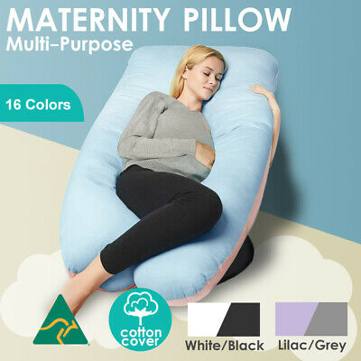 Aus Made Maternity Pillow Pregnancy Nursing Sleeping Body Support Feed
