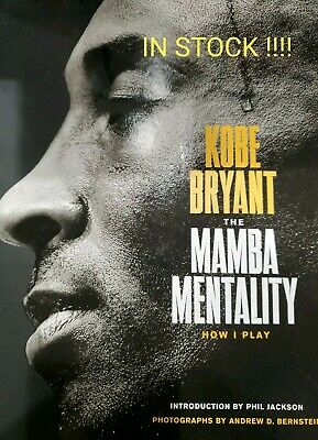 The Mamba Mentality: How I Play by Kobe Bryant Hardcover Fast SHIPPING INSTOCK