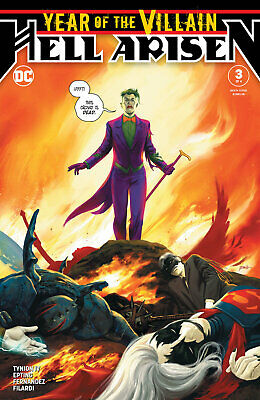 YEAR OF THE VILLAIN HELL ARISEN #3 EPTING 1st print - 1st PUNCHLINE - NM to NM+