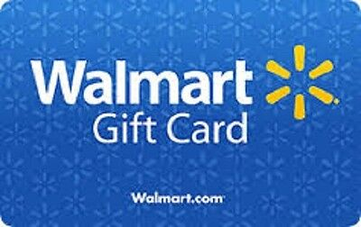 $25 Walmart Gift Card ***In Store or Online*** Fast Shipping