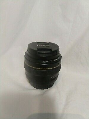 Canon EF 50mm f/1.4 USM Lens -- For Canon SLR Cameras -- EXCELLENT Condition