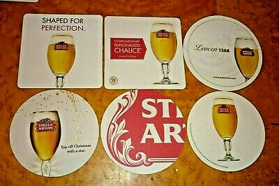 "complete set of 6 BOAG,S Brewery/"" bottle position/"" collectable BEER COASTERS"