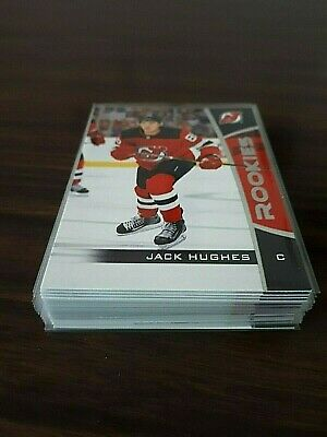 2019-20 UD Upper Deck Hockey NHL Rookie Card - Complete Set 25 Cards