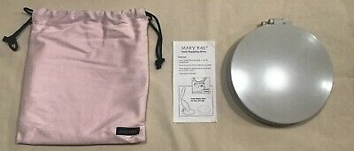 New Mark Kay LED Makeup Magnifying Mirror With Carry Pouch