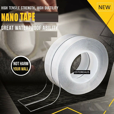 9M Nano Magic Tape Gel Grip Traceless Removable Double-Sided Adhesive Washable