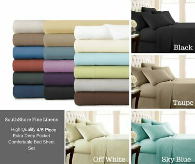 1800TC Ultra SOFT Sheet Set (3PC FITTED SHEET SET) or (4PC SHEET SET) Bed New