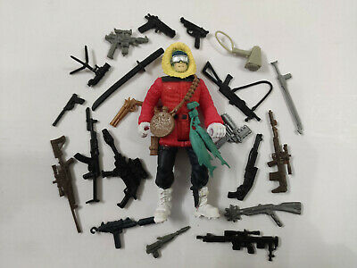 """3.75/"""" GI Joe Action Figure Gift General Hawk #2 With 5pcs Accessories"""
