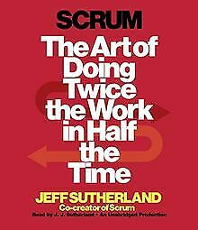 Scrum: The Art of Doing Twice the Work in Half t... | Book | condition very good