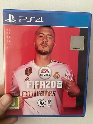 Fifa 20 PS4 - Case & Disc In Ex Condition - Football Soccer 2020 PlayStation 4