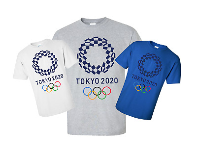 Tokyo Olympic Games 2020 T Shirt USA Ring Spun Cotton Good Quality #1