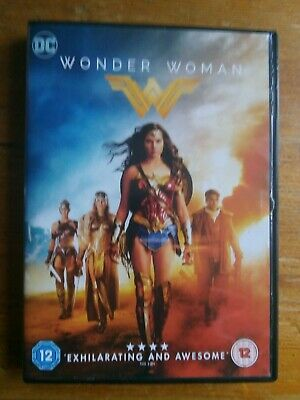 Wonder Woman Region 2 2017 DVD