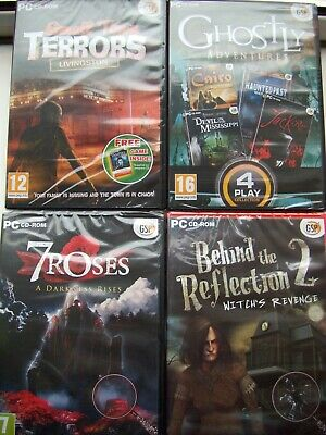 Eight---Hidden Object Games---Pc Cd---Brand New & Sealed