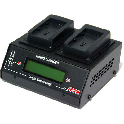 Dolgin Engineering TC200-i 2 Position Battery Charger for Canon Battery