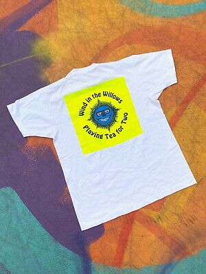 VTG Grateful Dead Scarlet Begonias Wind in Willows Playing Tea for Two rare XL