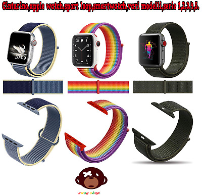 Cinturino,Apple watch,Sport Loop,serie da 1 a 5,Nylon,smartwatch,strap,sport,new