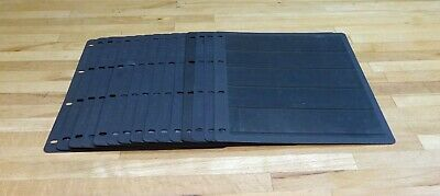 5 STRIP Hagner/Vario Style Single Sided Stock Pages x 15.