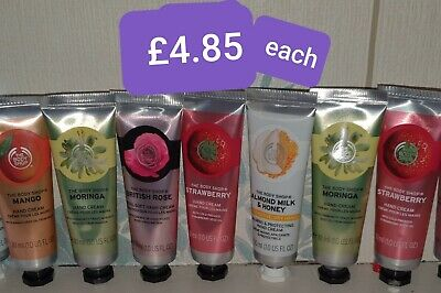 The Body Shop Hand Cream FREE DELIVERY.