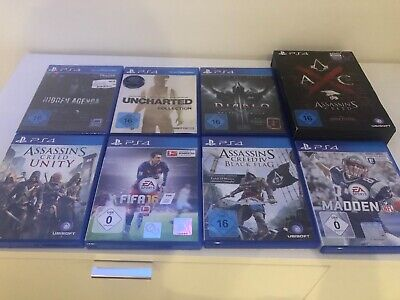 Sony PlayStation 4 Spiele PS 4 Sammlung + Assassins Creed Edition Syndicate