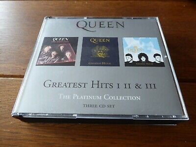 QUEEN The Platinum Collection Greatest Hits 1-3 Parlophone 3CD 2000