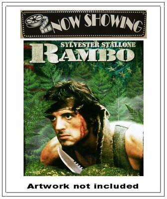✅ Rambo First Blood (DVD Only, 1998) Sylvester Stallone - 100% Authentic ⭐⭐⭐⭐⭐