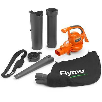 Flymo POWERVAC 3000 Garden Vacuum and Leaf Blower 240v