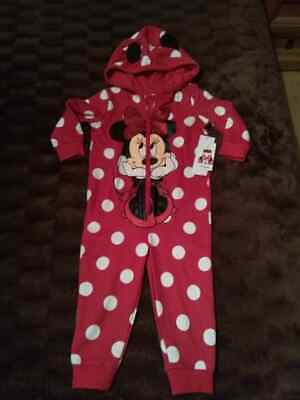 Minnie Mouse  all in one Bodysuit  age 18 -24 month old Brand new
