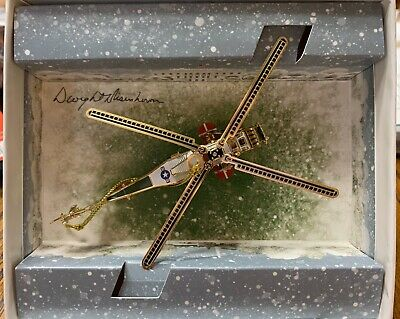 2019 White House Historical Association Christmas Ornament VCH 34 Helicopt