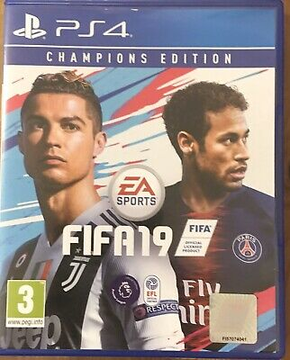 FIFA 19 For PS4 - Champions Edition