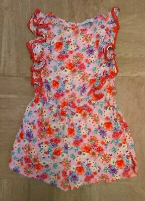 Girl's PRIMARK playsuit age 4-5yrs,good condition