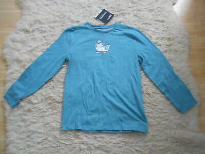 BNWT Craghoppers Blue Long Sleeve Insect Repellent/UPF40 Shield T-Shirt - 13 yrs