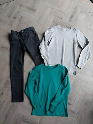 Next Skinny Jeans And Tops Bundle Age 6/7 Yrs Excellent Condition