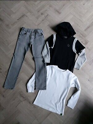 Next/Zara Boys Skinny Jeans And Tops Bundle Age 6/7 Yrs  Excellent Condition