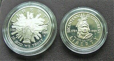1989 S Congressional Coin Set Proof