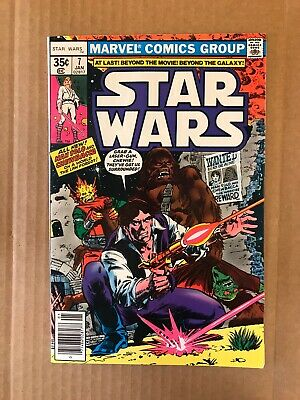 Star Wars 7 1977 Marvel Comics