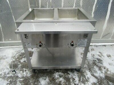 Duke 2 Well Steam Table On Casters Ep302M 120 V 1 Ph  Nice Unit