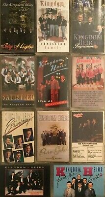 Pick 1 The Kingdom Heirs From This Cassette Tape Lot Gospel