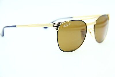 New Ray-Ban Junior Rj 9540S 260/83 Gold Authentic Sunglasses Frame 49-17