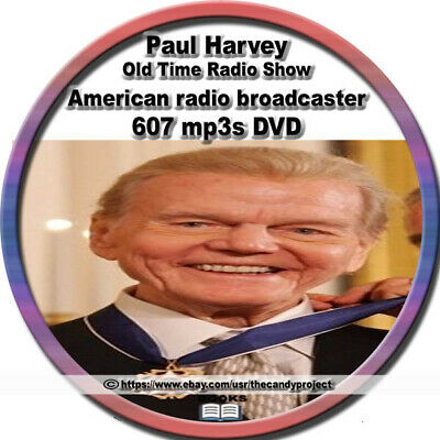 Paul Harvey the rest of the story American radio broadcaster 607 mp3s DVD