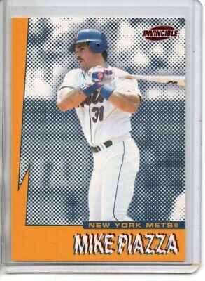 1999 Invincible Mike Piazza Seismic Force ( Nm-Mt Or Better )