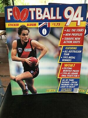 AFL Sticker Album 1994