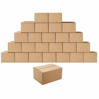 Shipping Boxes Mailers 8x6x4 inches Corrugated Cardboard Small Packing Kraft Mov